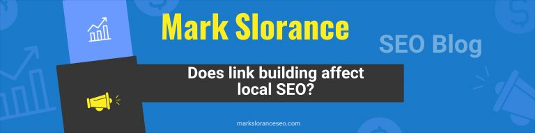 Does link building affect local SEO?